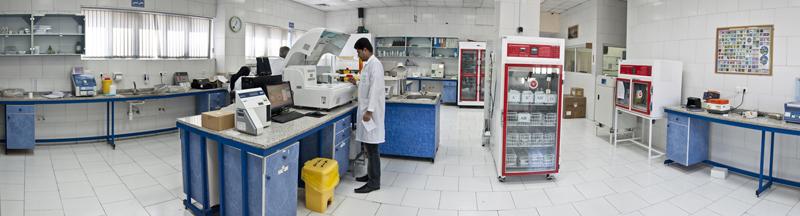 آزمايشگاه بيمارستان فوق تخصصي مادر و كودك غدير