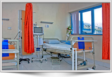 بخش بستري بيمارستان مادر و كودك غدير