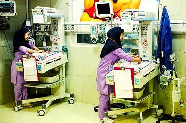 بيمارستان مادر و كودك غدير مراقبت هاي ويژه نوزادان NICU